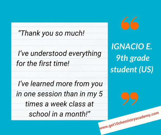 Ignacio E. (9th grade student, US)